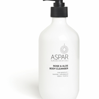 ASPAR Rose & Aloe Body Cleanser 500ml