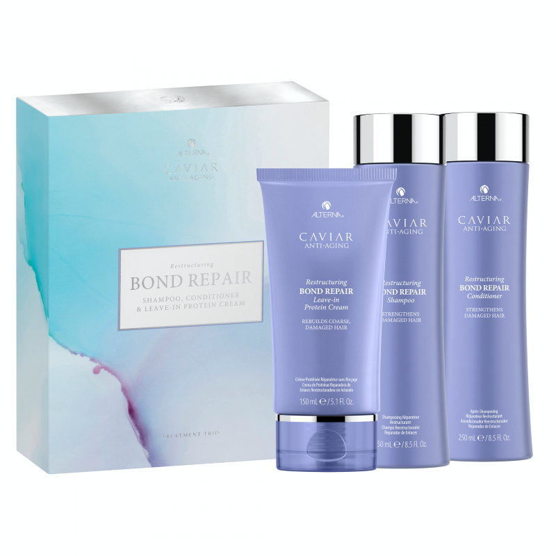 Alterna Caviar Anti-Aging Restructuring Bond Repair Treatment Trio